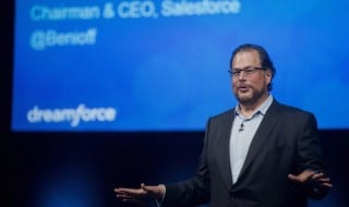 Marc Benioff, CEO de Saleforce.